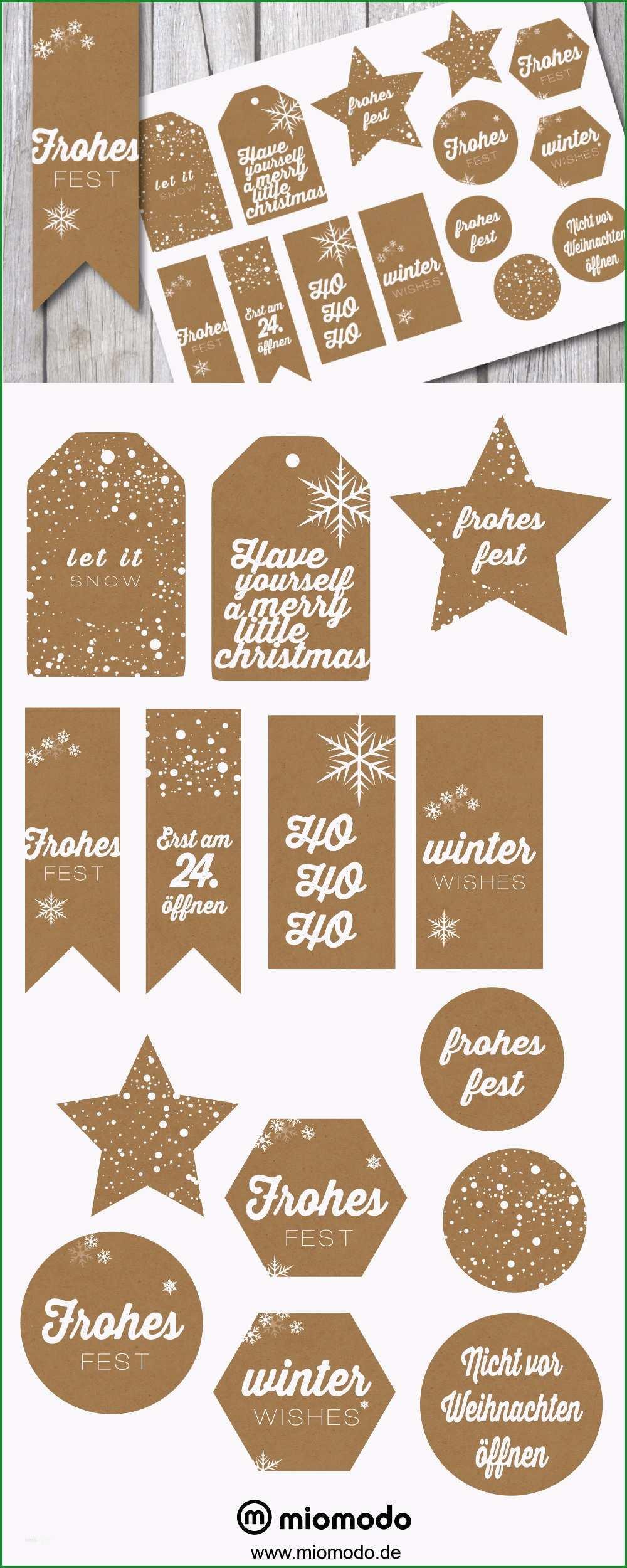 etiketten vorlage weihnachten wunderbar geschenkanhanger weihnachten im kraftpapier look