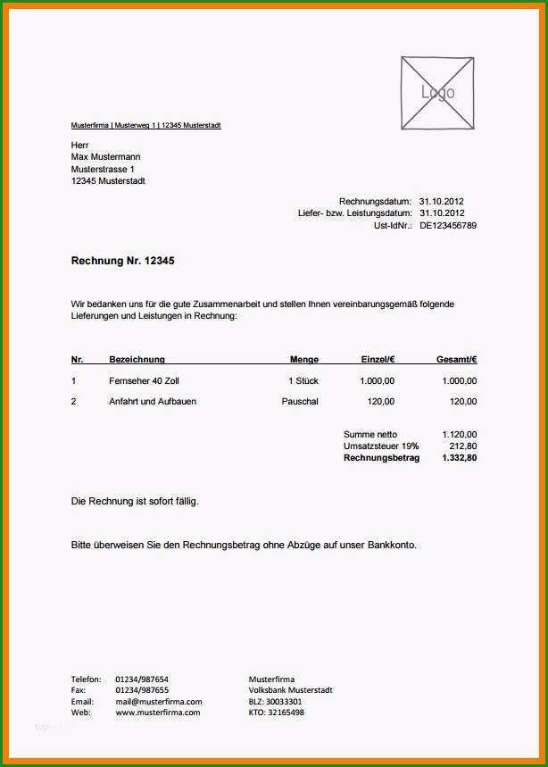 Ungewöhnlich Ex Zurck Brief Vorlage Neu 10 Rechnung Muster