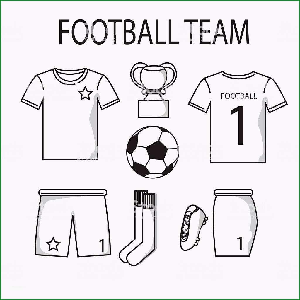 fußball oder fußball trikots vorlage für sport club gm