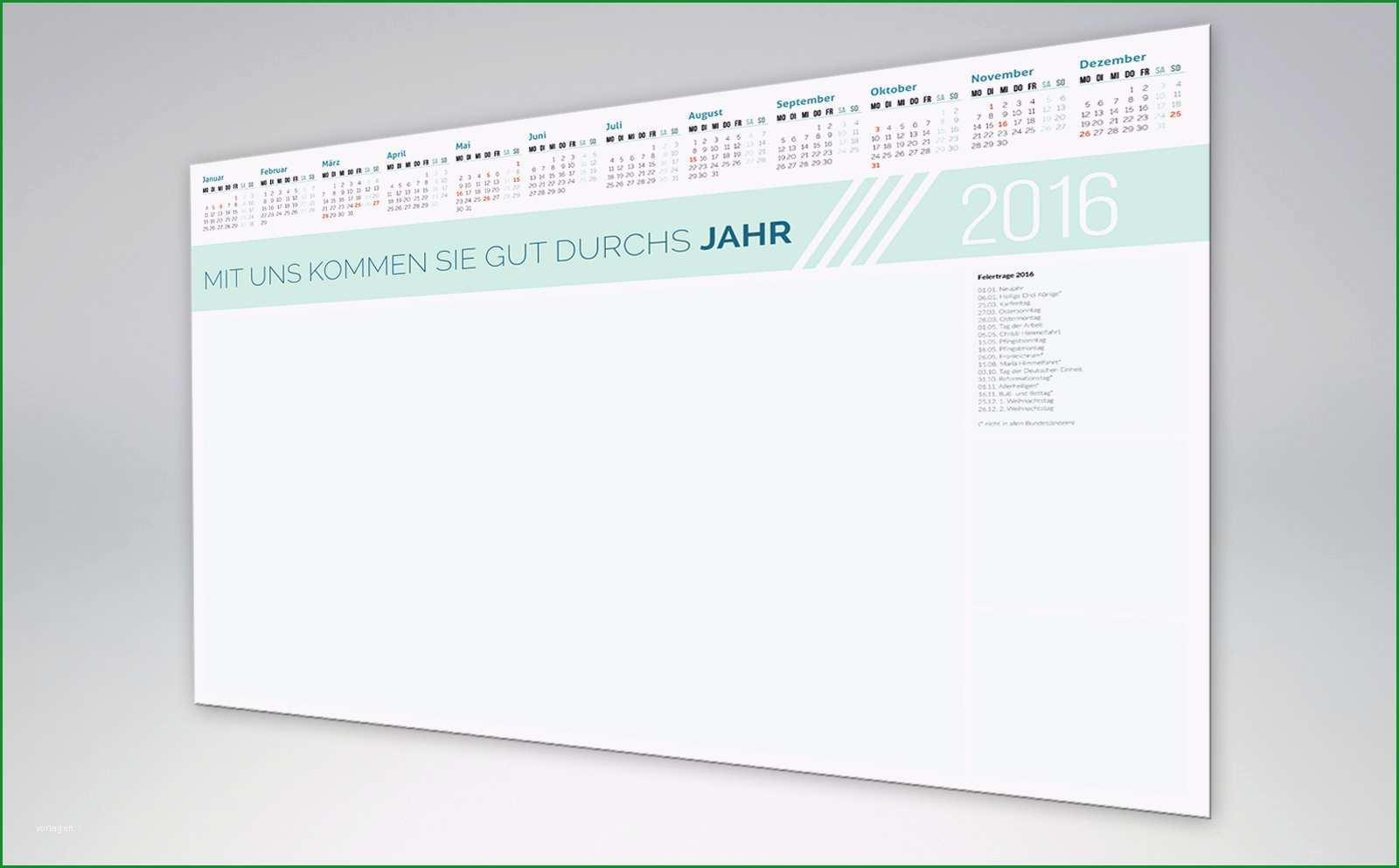 kalendervorlagen 2016 bis 2020 225