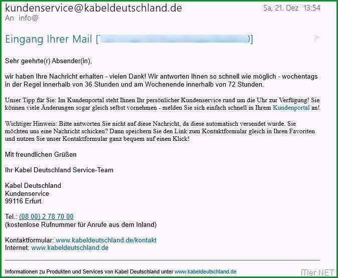 kabel deutschland kundigung muster pdf
