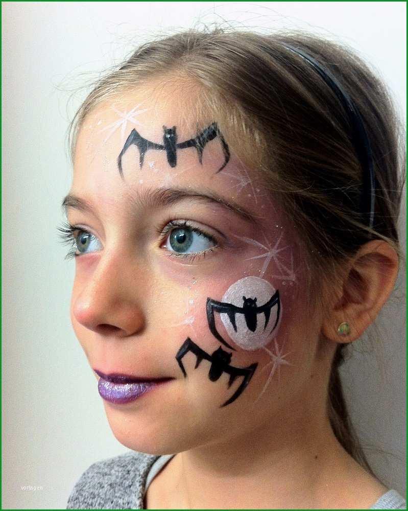 Fledermaus Schminken Last Minute Halloween Makeup Spinne 2020