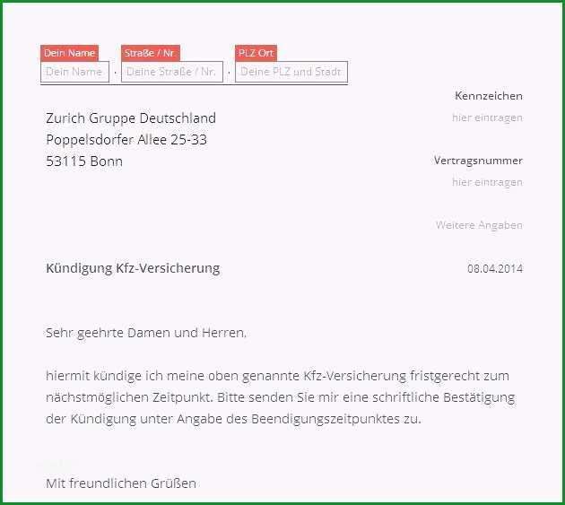 kundigung kfz versicherung per email sammlungen von 38 wunderbar hausratversicherung kundigen vorlage modelle