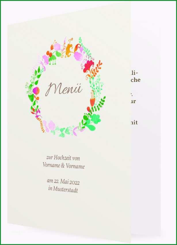 Ungewöhnlich Vorlage Menükarte Zur Hochzeit
