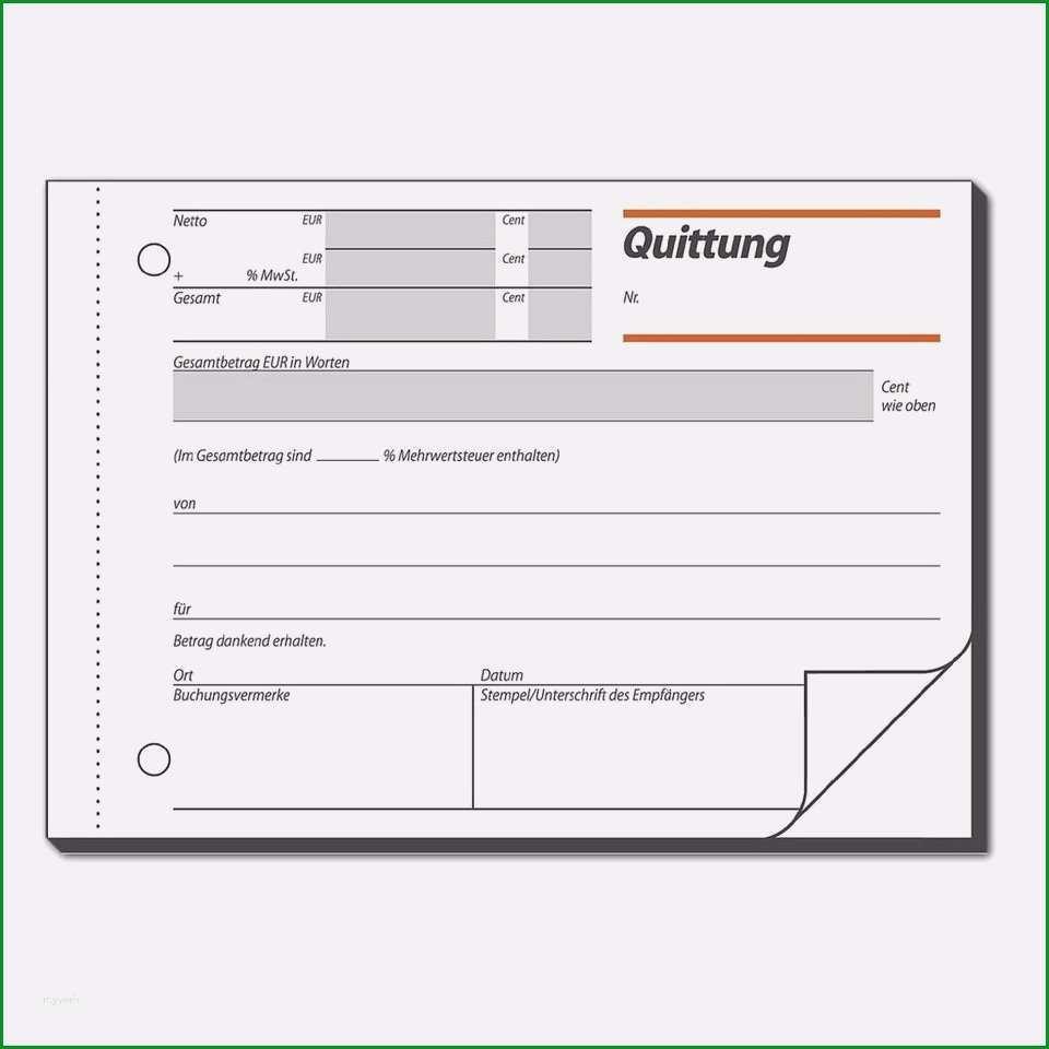 11 quittung ohne mehrwertsteuer