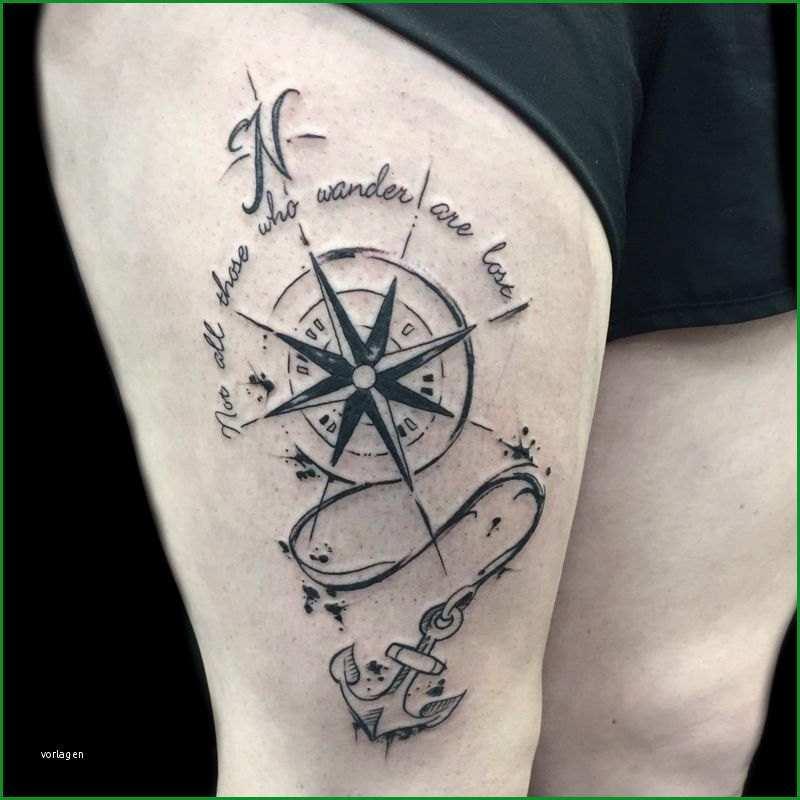 anker kompass tattoo