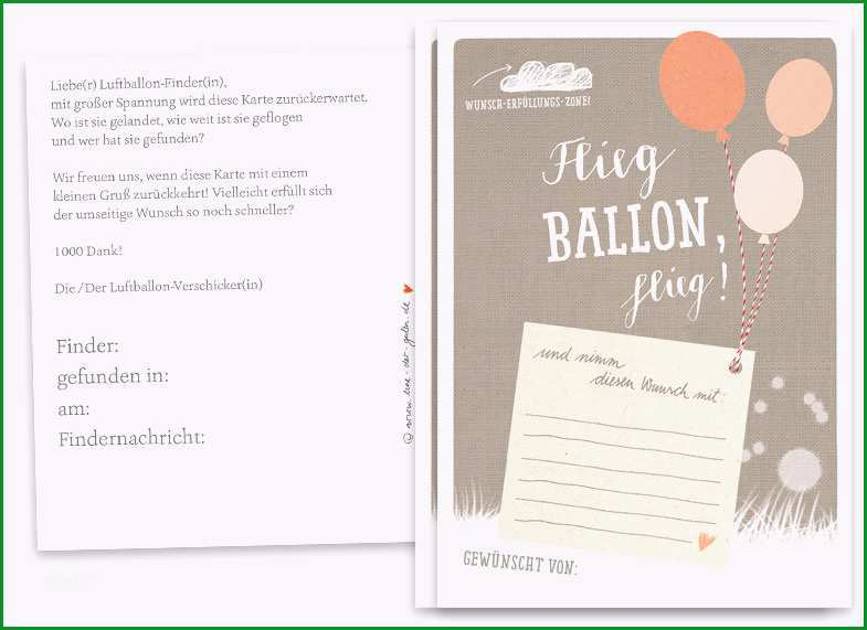 product info info=p994 ballonflugkarten fuer hochzeit als hochzeitsspiel flieg ballon flieg beige 25 100 ballonkarten