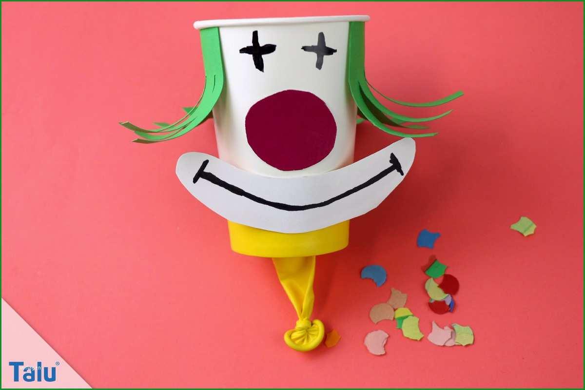 clown clownsgesicht basteln
