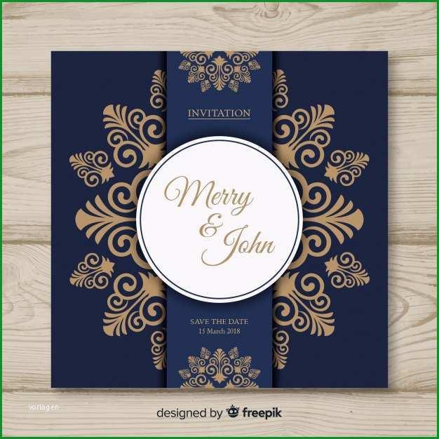 dekorative hochzeitskarte vorlage