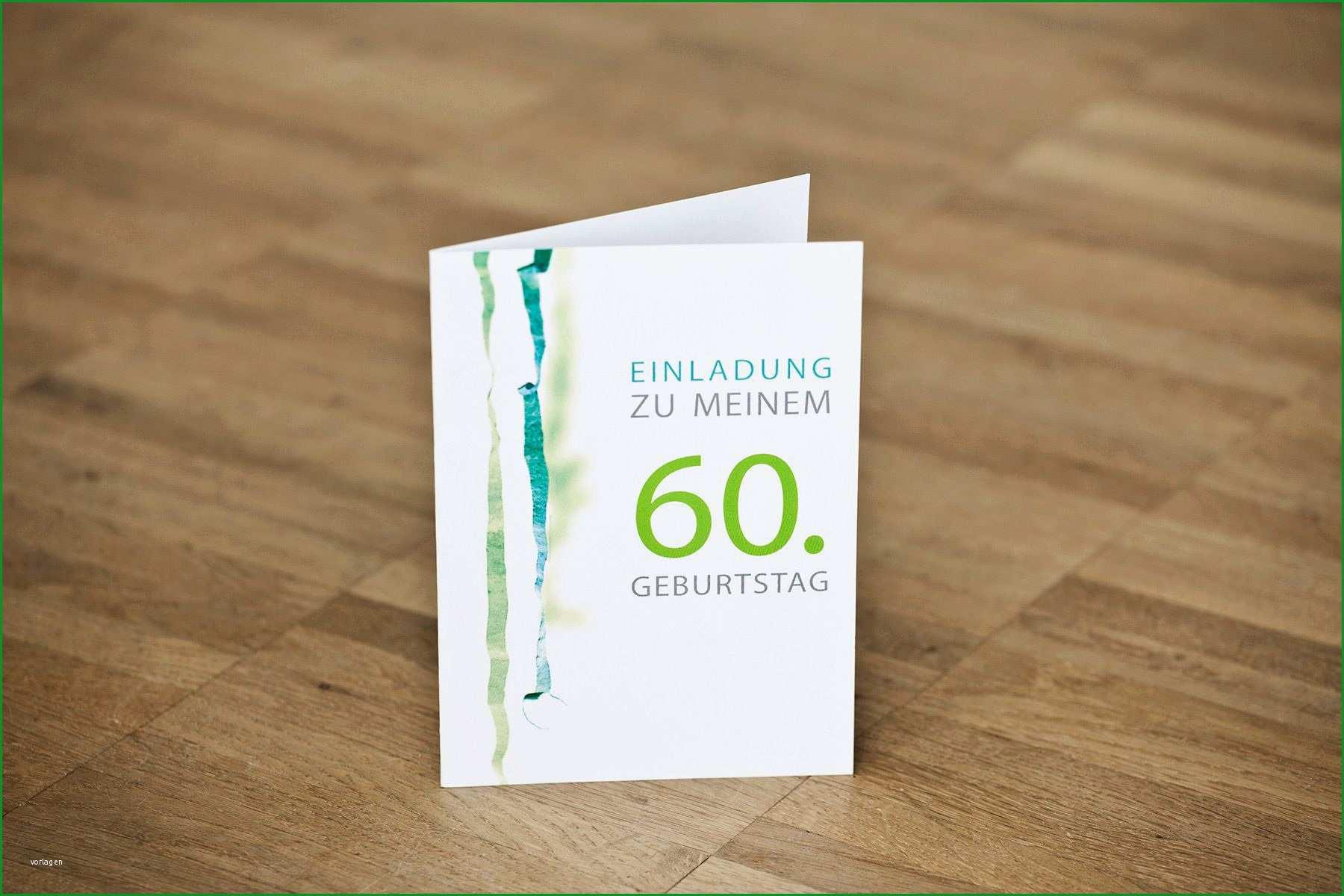 einladung 60 geburtstag vorlage word kostenlos