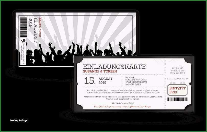 eintrittskarten selber machen vorlage erstaunliche einladung eintrittskarte festival selbst gestalten