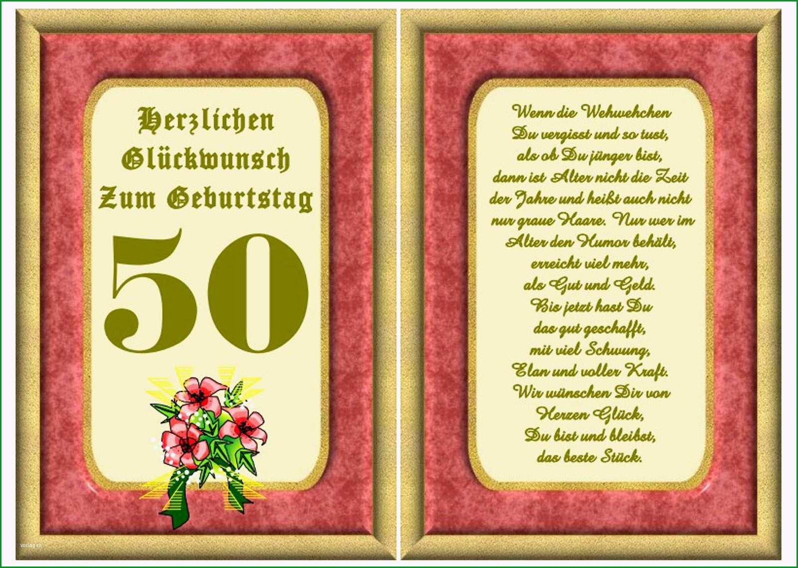 geburtstagseinladung 50