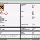 Unglaublich Gefahrstoffkataster Vorlage Excel – Werden