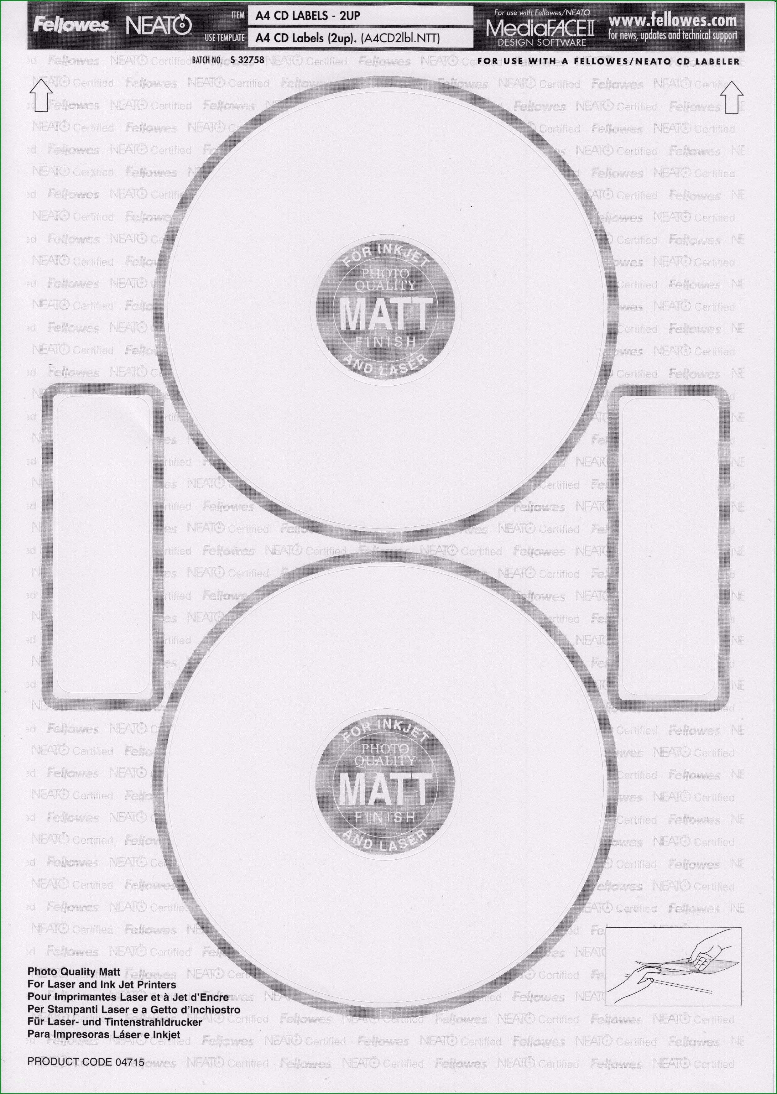 memorex cd labels template mac