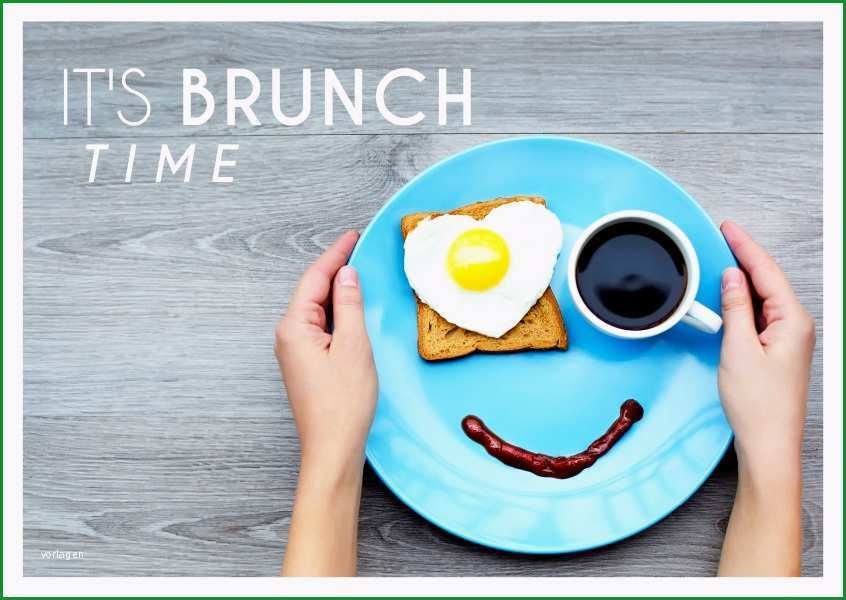 einladungskarte freunde brunch fruehstueck kaffee online verschicken 4943
