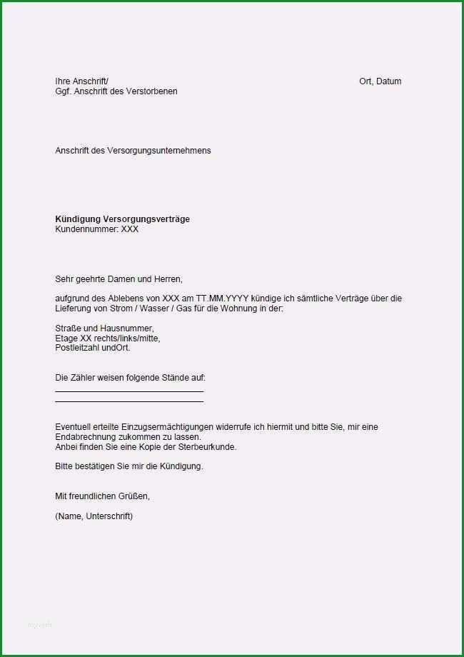 kundigungsschreiben vorlage wohnung mieter fabelhaft kundigung mietvertrag wohnung muster kostenlos kundigung