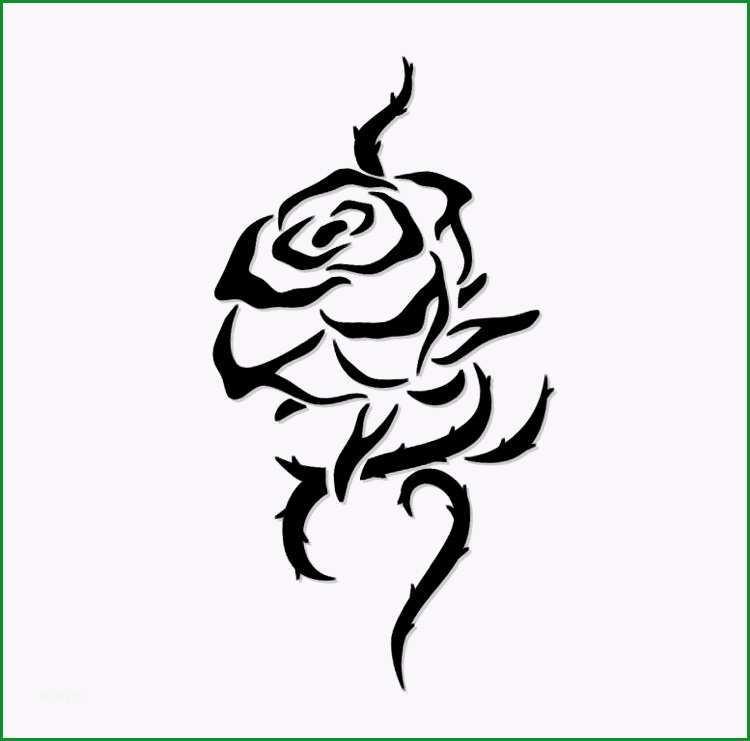 rosenranke tattoo bedeutung vorlagen