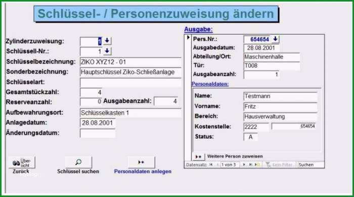 schlusselverwaltung excel vorlage grosartig schlusselverwaltung fur access 2