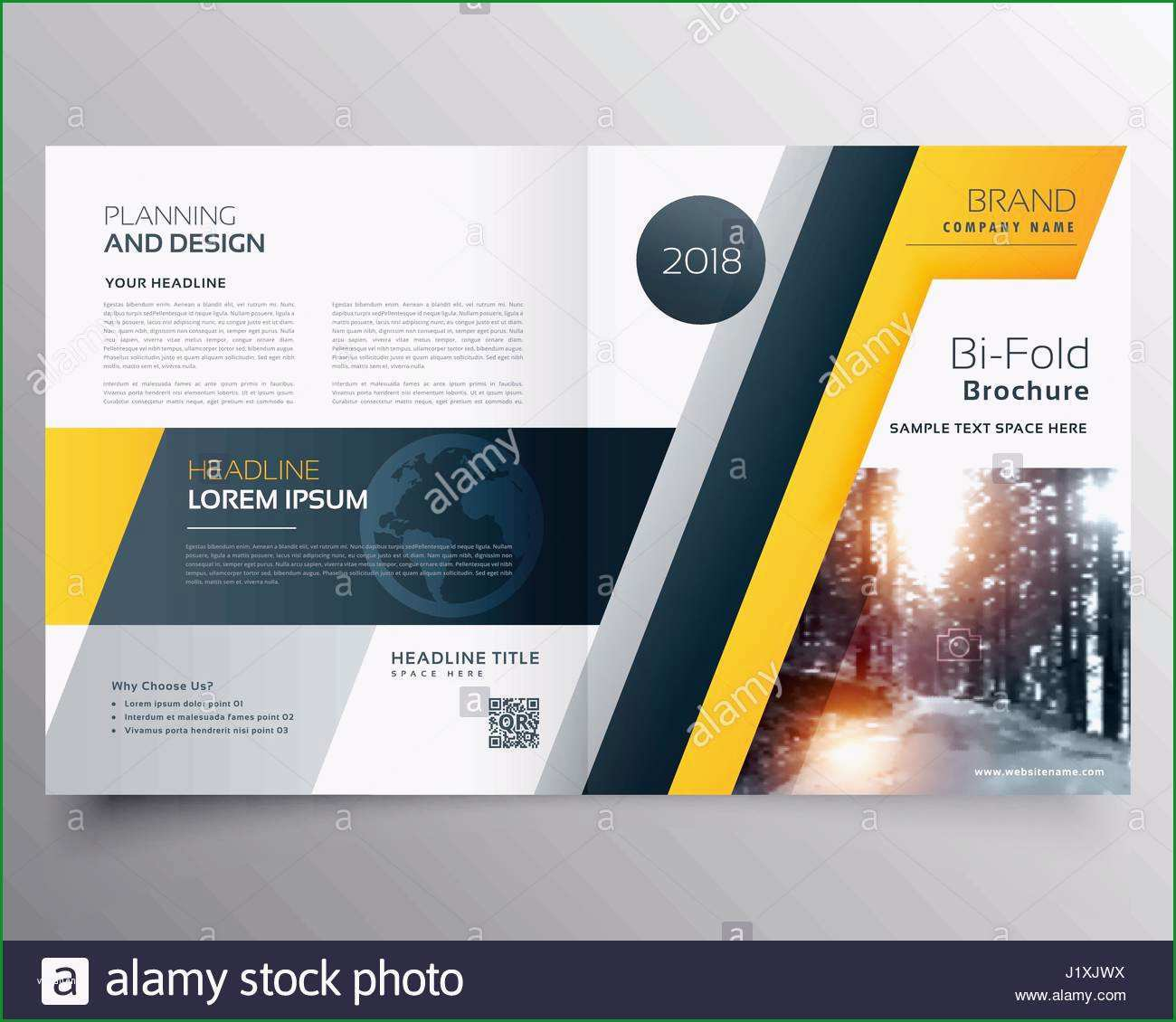 stylish magazine cover page template