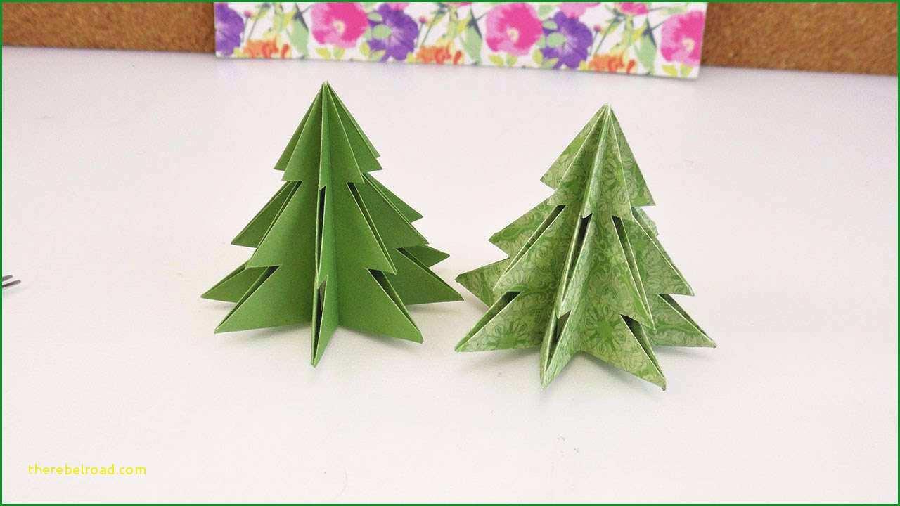 Unglaublich Tannenbaum Basteln Papier Vorlage