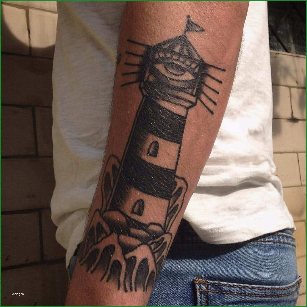 tattoo leuchtturm mit auge