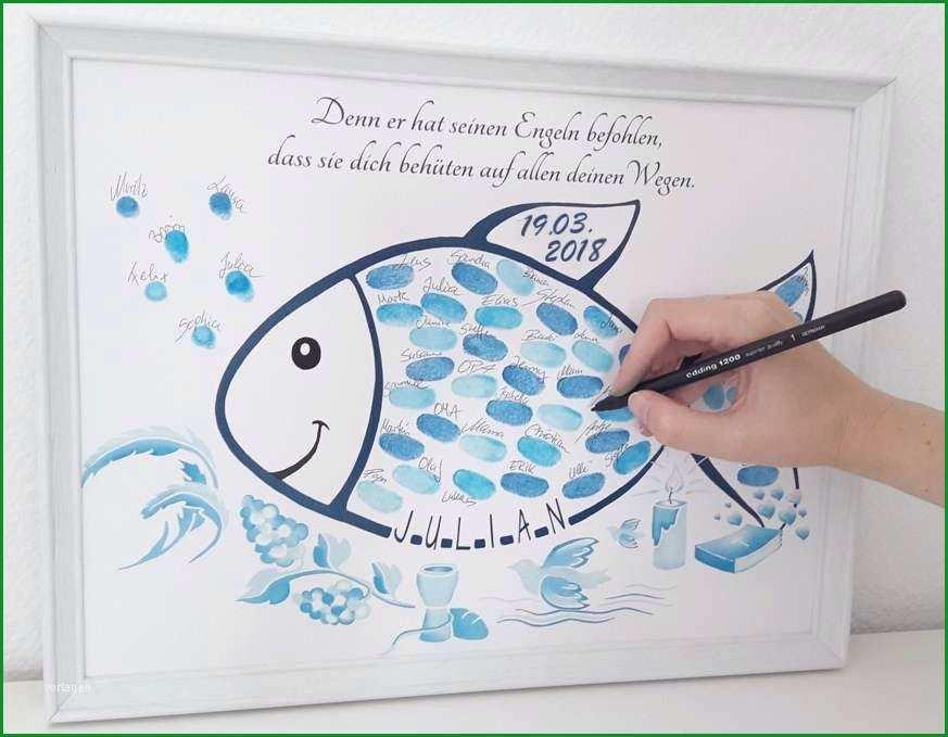 taufe fisch vorlage