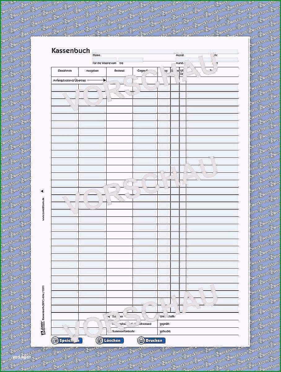 15 kassenbuch handschriftlich vorlage