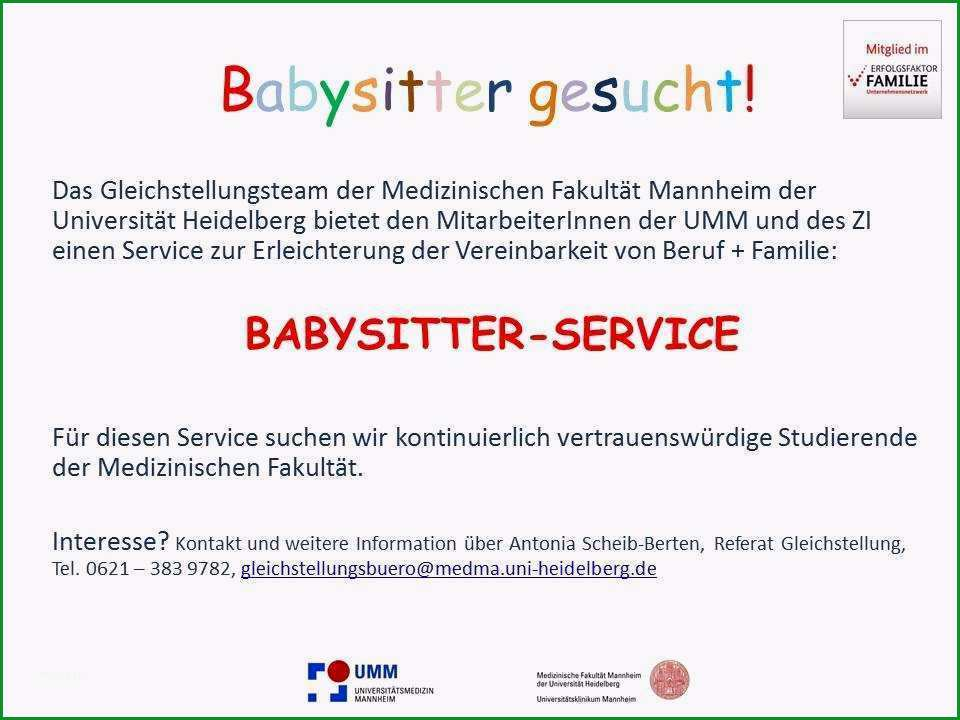 babysitting aushang vorlage