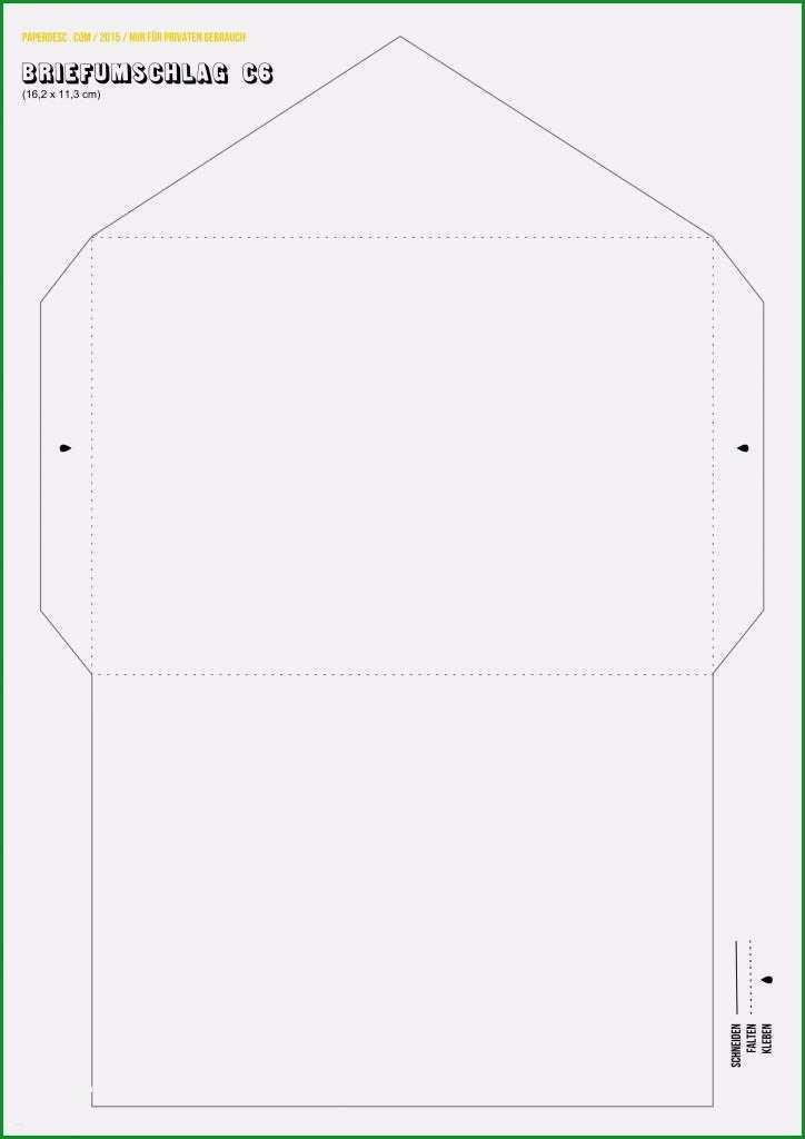briefumschlag vorlage pdf