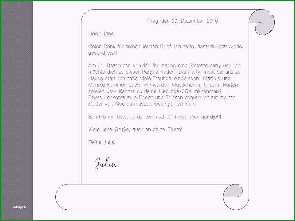 Unvergesslich Brief Schreiben Für Einladung Einladungkarten