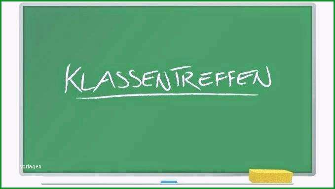 einladung klassentreffen kostenlos vorlage
