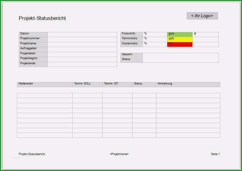 excel vorlage besprechungsprotokoll schon projektmanagement24 blog projekt statusbericht in word