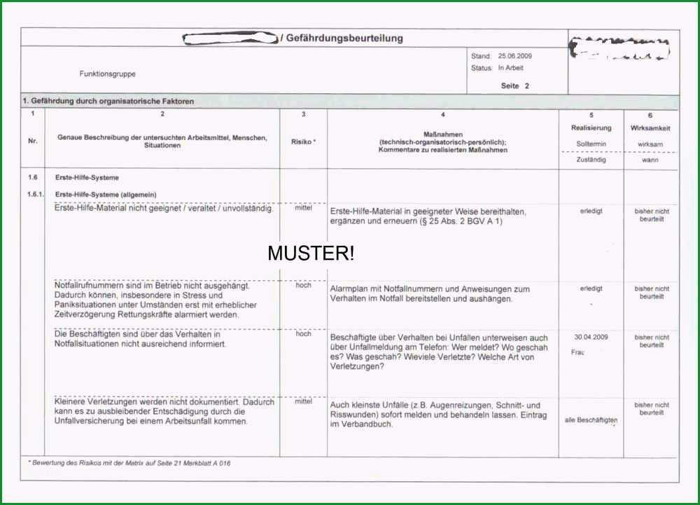 gefahrdungsbeurteilung brandschutz vorlage regelmasigbemerkenswert gefahrdungsbeurteilung geruste und fahrbare arbeitsbuhnen