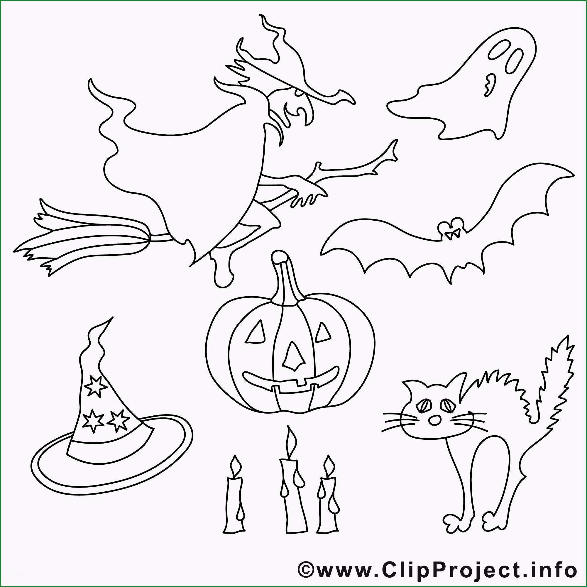 halloween malvorlagen hexen gespenster fledermause 677