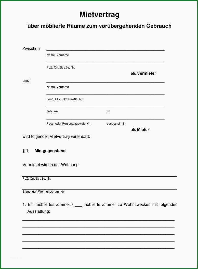 hamburger mietvertrag fur wohnraum pdf