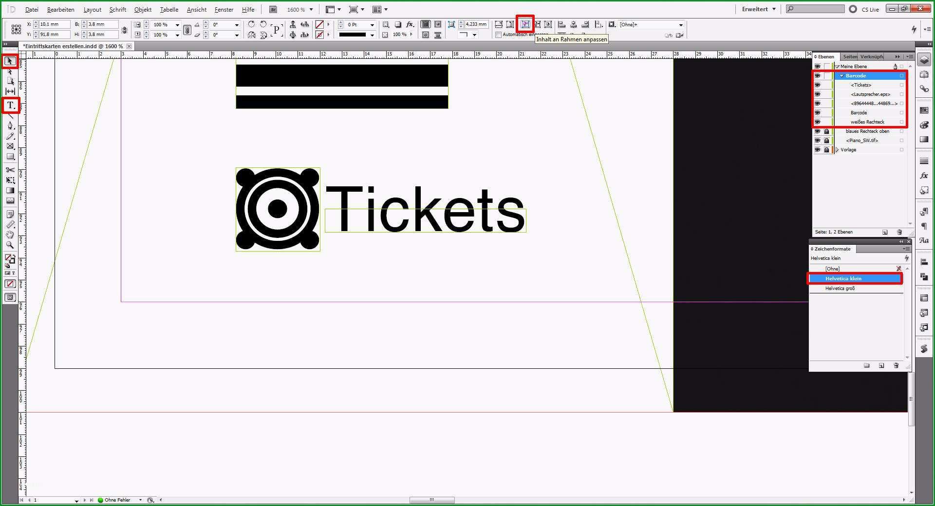 tutorial eintrittskarten erstellen