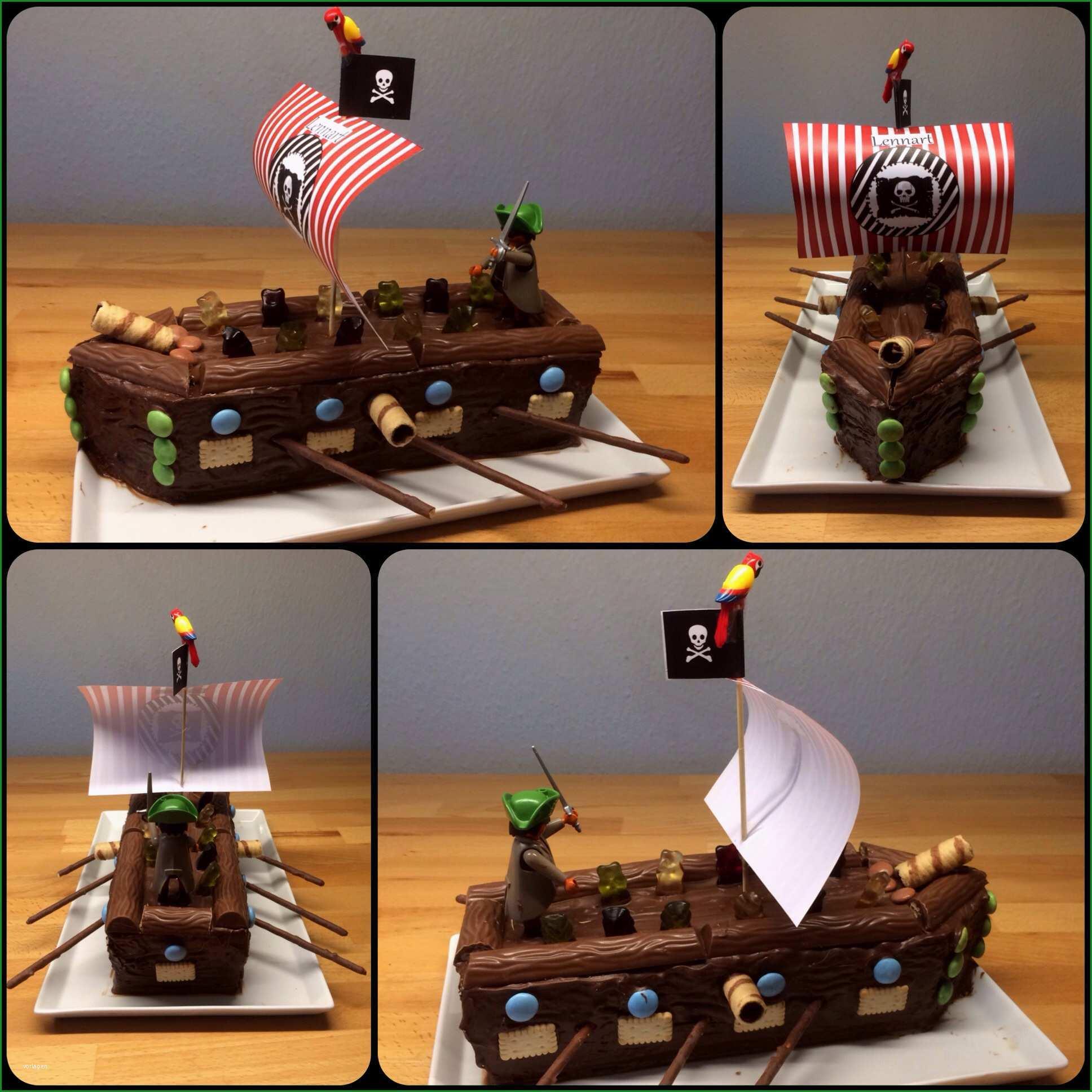 ? piratenschiff zum geburtstag ?? piratenkuchen alle mann an bord